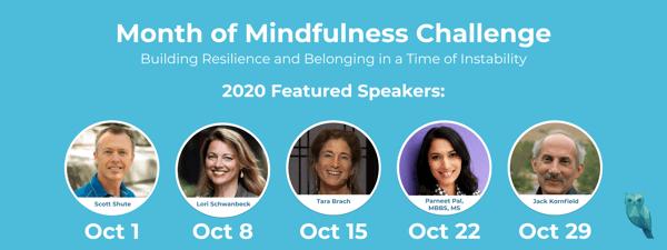 2020 Mindfulness Challenge Speakers